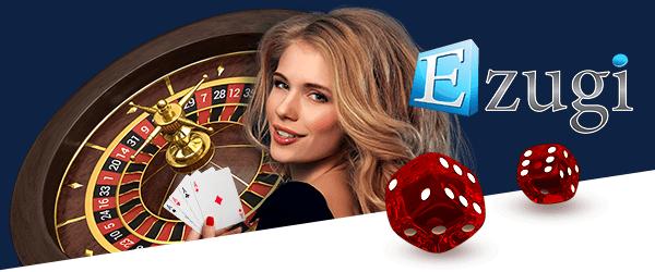 Ezugi games in the Live Casino