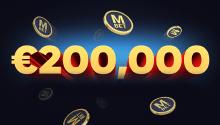 €200,000 Big Cash Prize