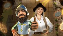 Gonzo's Treasure Hunt Prize Draw
